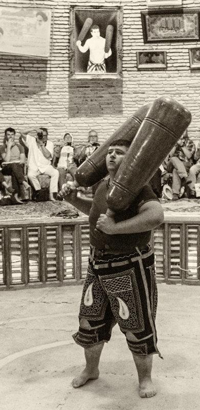 Lutte persane, Varzesh-e Pahlavani