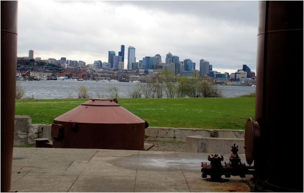 A Seattle View from Gas Works Park
