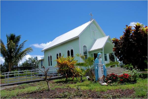 A little Church in Hawaii