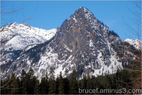 Snoqualmie Pass View in Early Spring