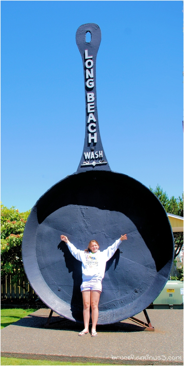 One Time The Worlds Largest Frying Pan