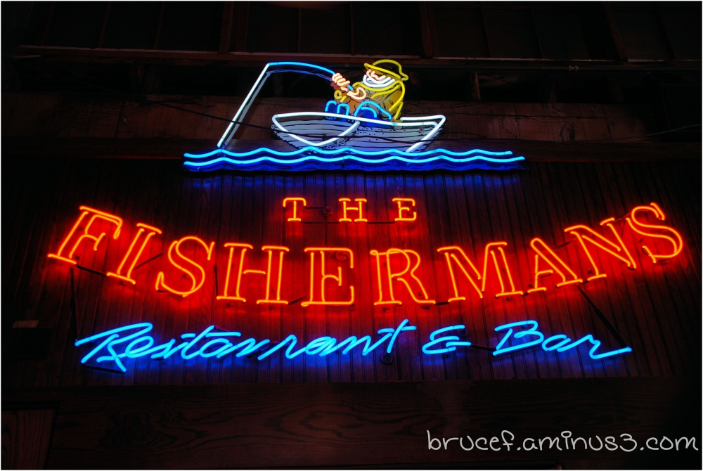 Apparently where the Fisherman eat.