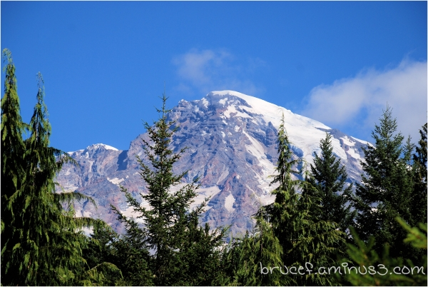Mt  Rainier - a scene you never tire of seeing.