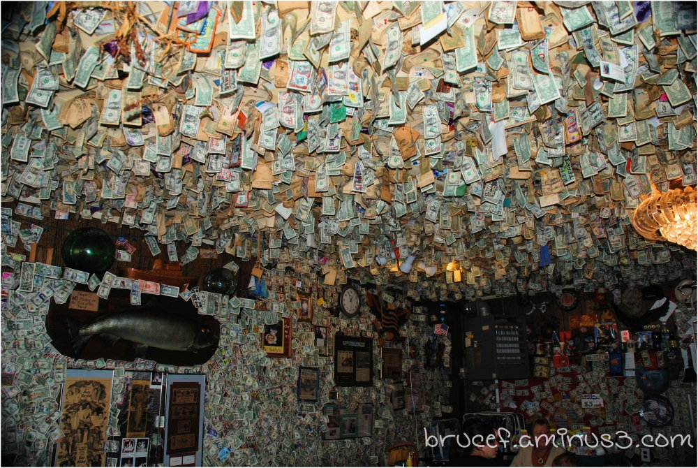 Pick a dollar from the ceiling.