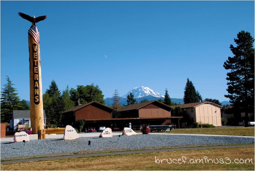 Veterans Day and Mt Rainier