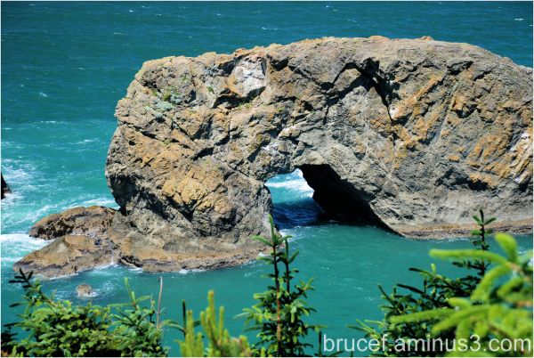 Natural tunnel Oregon Coas