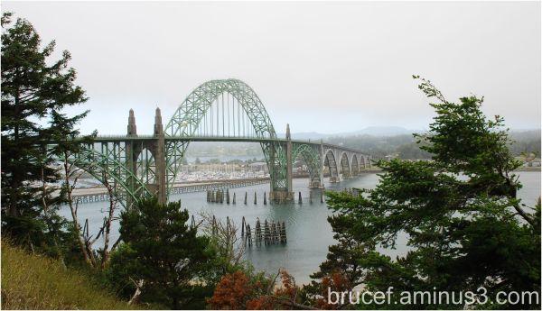 Yaquina Bay Bridge Oregon Coast
