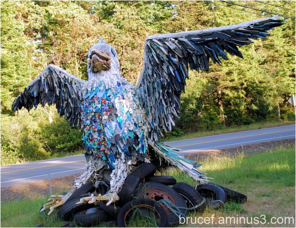 Garbage Eagle