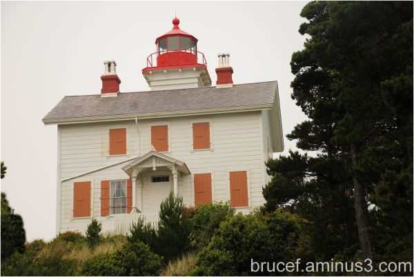 Yaquina Bay Lighthouse Oregon Coast