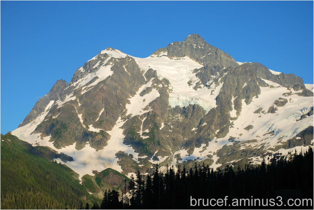 Mt Baker up close and personal