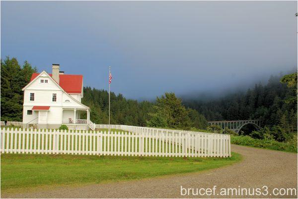 Heceta Head Lighthouse Keeper Home Oregon