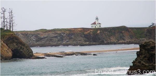 Cape Arago Lighthouse on the Oregon Coast