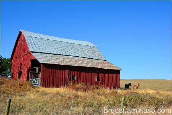 Barn In Eastern Washington State