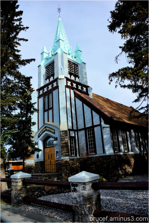 St Paul's Presbyterian Church Baniff Canada