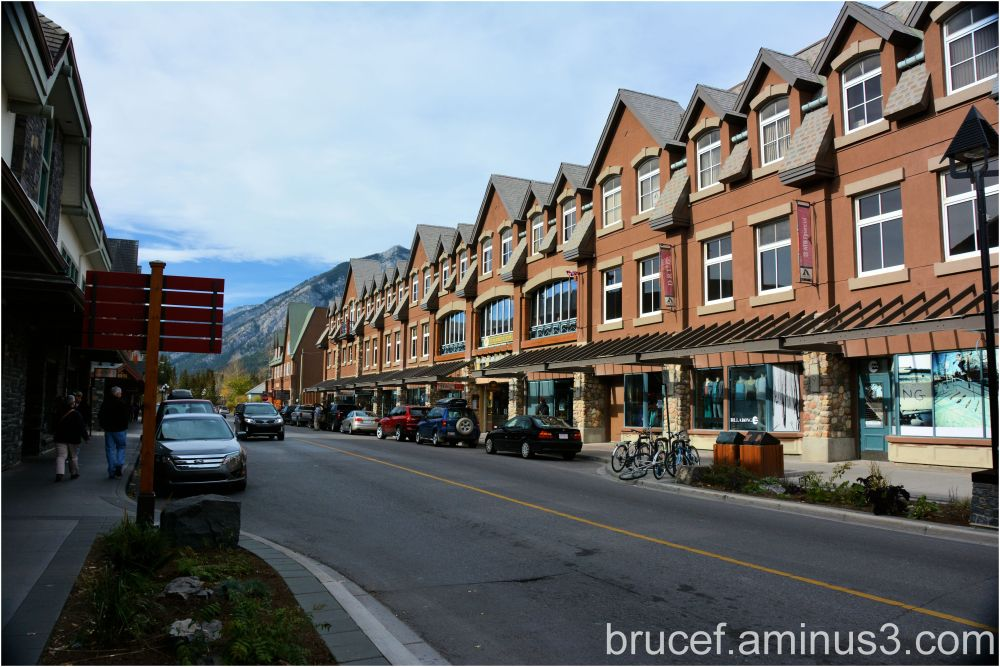 Downtown Baniff Canada