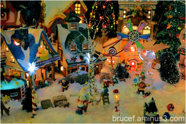 Our Santa Christmas Village