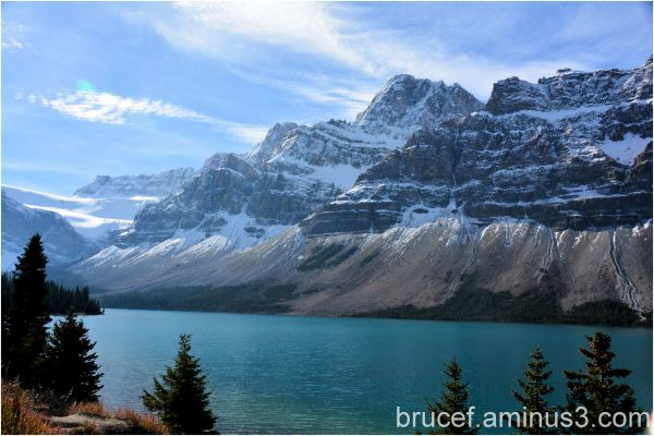 A beautiful day in Banff