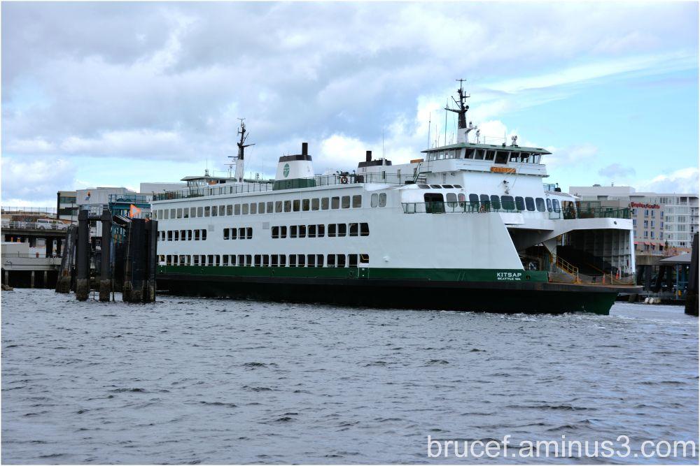 Beautiful Ferry Boat - the Kitsap