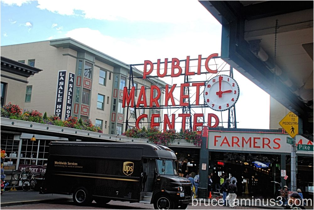 Pike's Place Market Seattle Washington