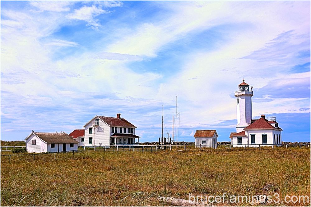 Port Wilson Lighthouse Washington State