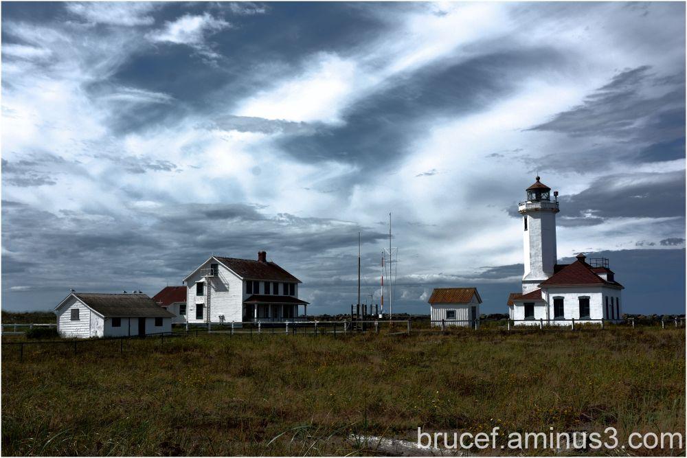 Port Wilson Lighthouse Washington State