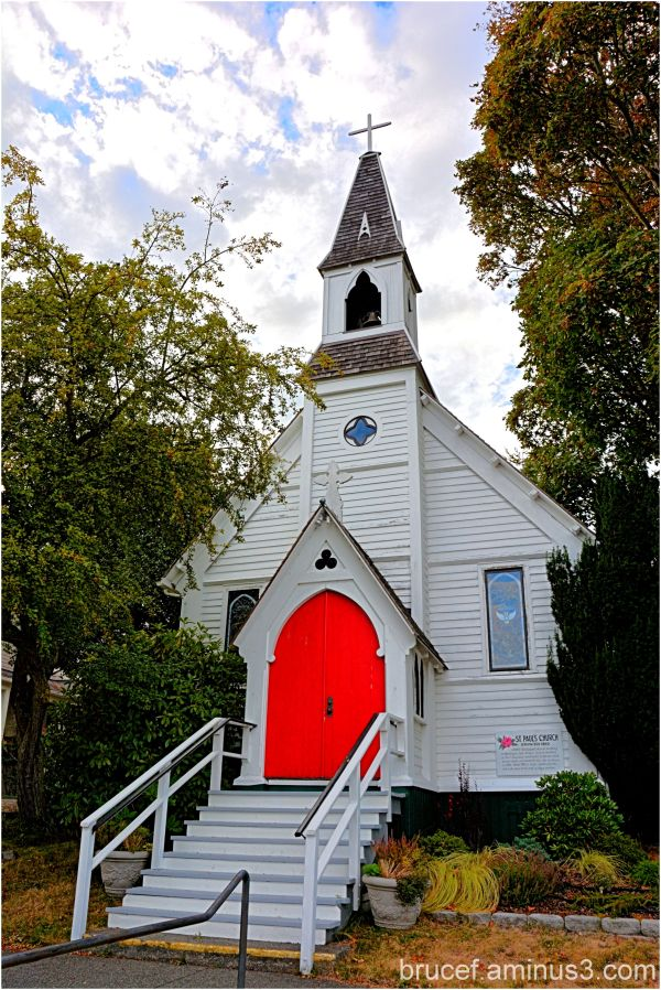 St Paul's Church in Port Townsend