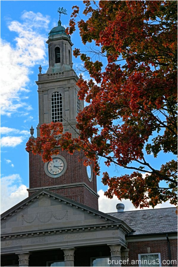Fall and the Clock Tower