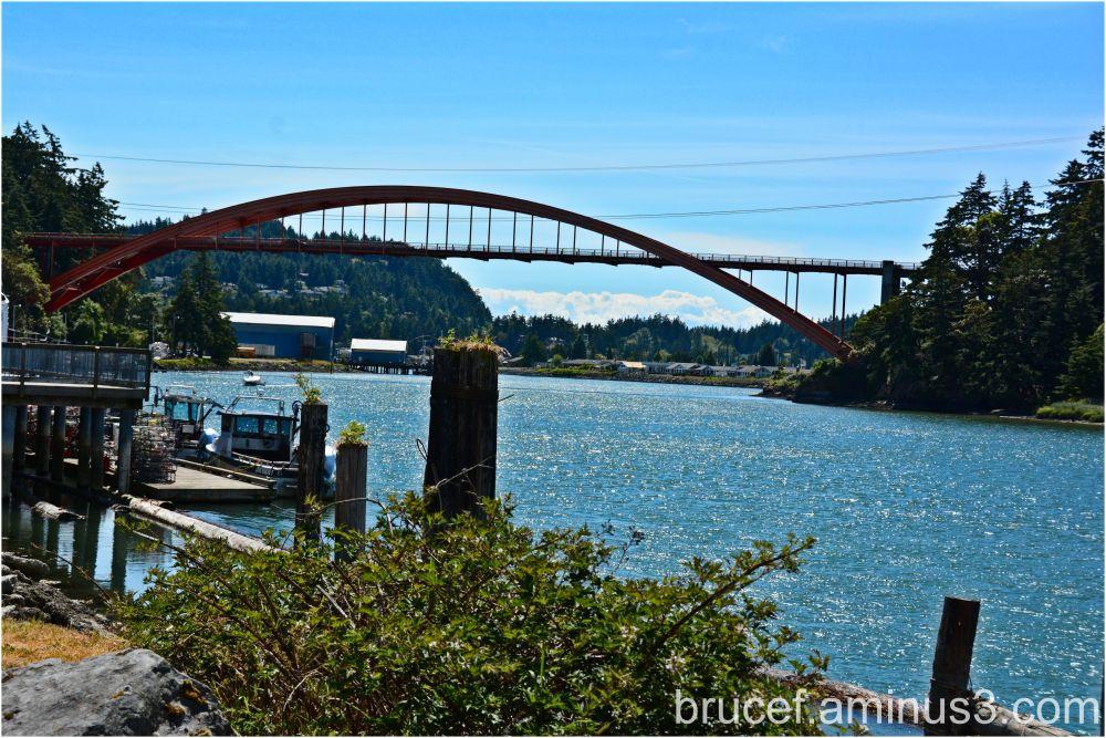 La Conner's Rainbow bridge