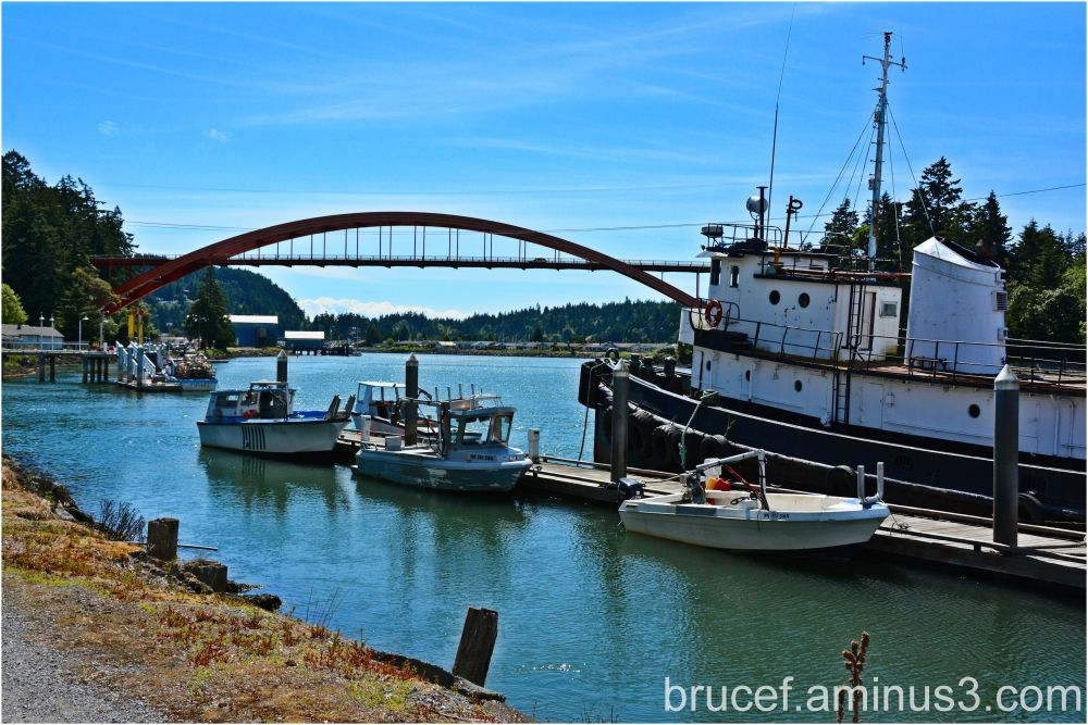 Rainbow Bridge in La Conner WA number II