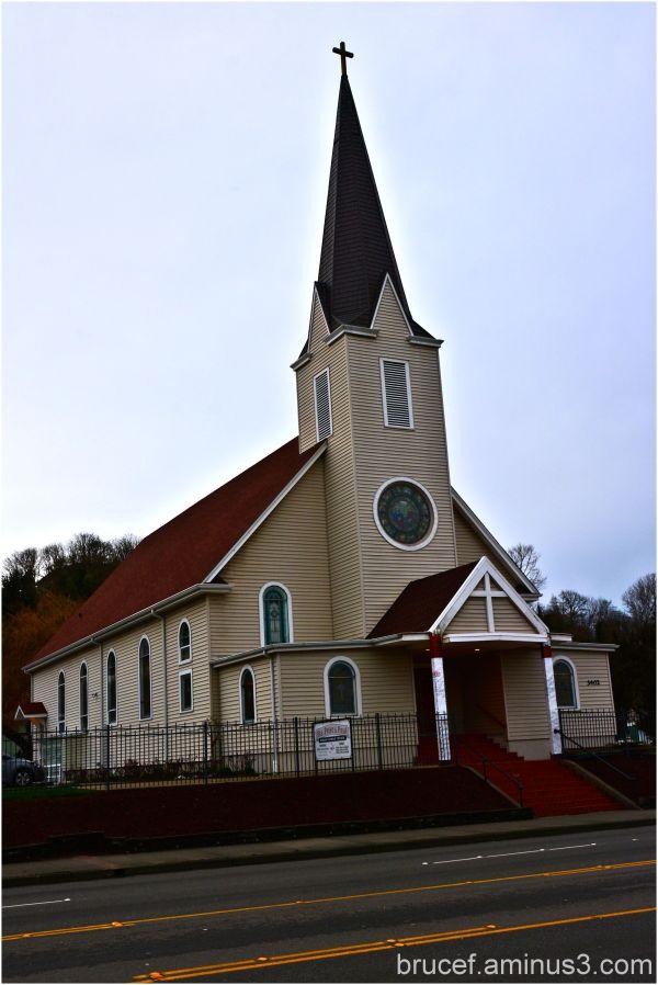 St Peter & Paul Catholic Church  Tacoma WA