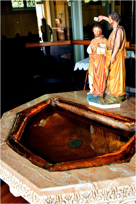 St Mary's Catholic Church Mt. Angel Oregon Baptism