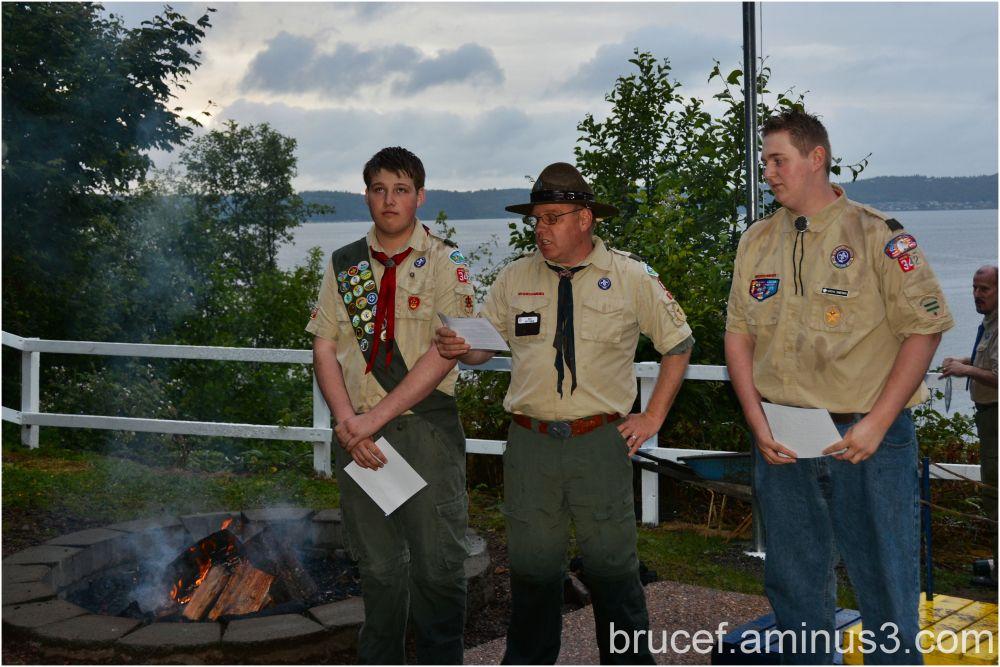 Boy Scout Ceremony