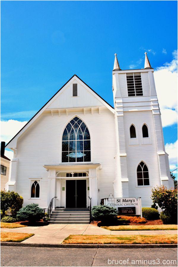 St Mary's Church Centralia, WA