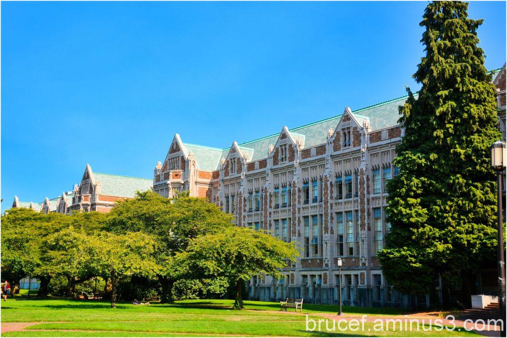The Quad at the University of Washington