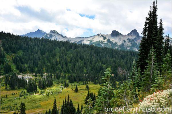 Tatoosh Range in Mt Rainier National Park