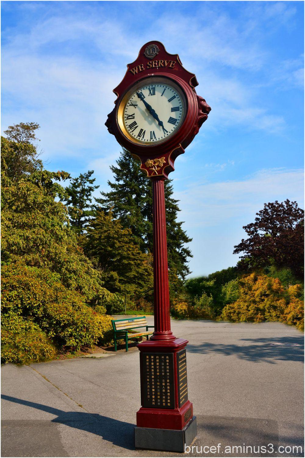 Queen Elizabeth Park Clock