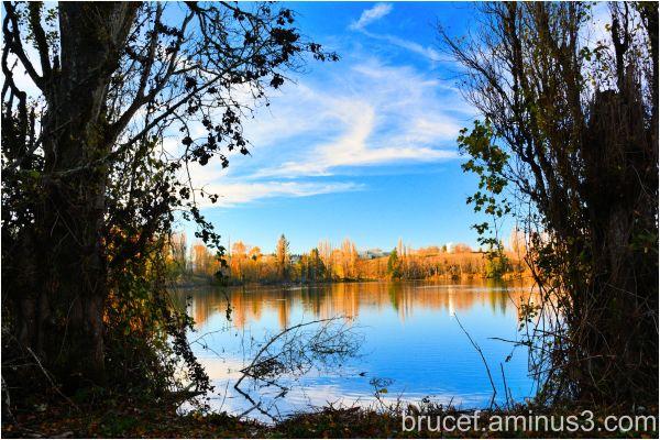Fall walk around the Lake