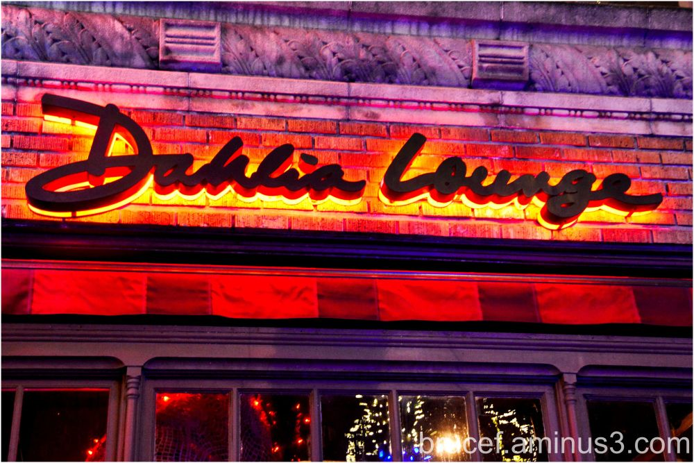 Dahlia Lounge Seattle Restaurant