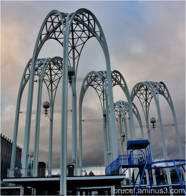 Arches at the Pacific Science Center