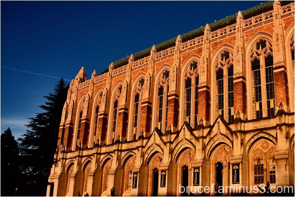 University of Washington at Dusk