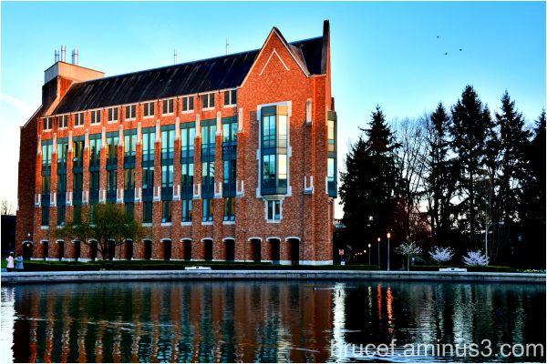 Evening at the University of Washington