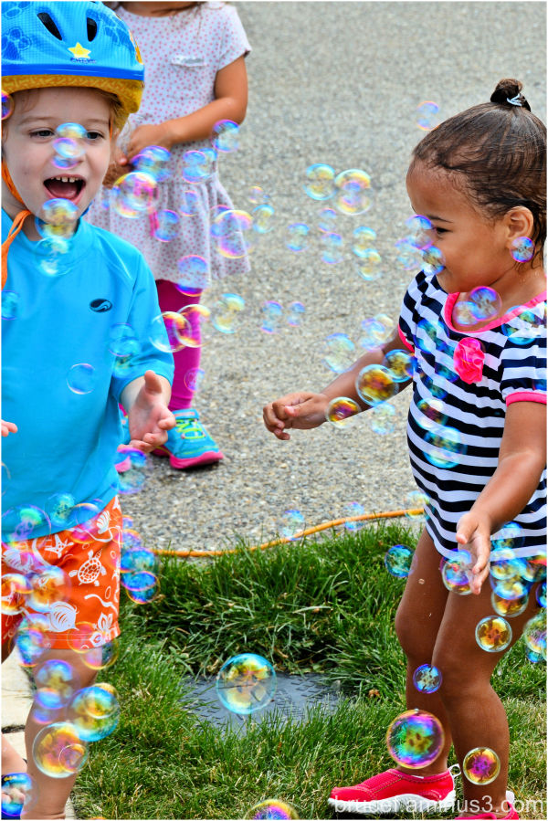 Kids   Bubbles   Summer