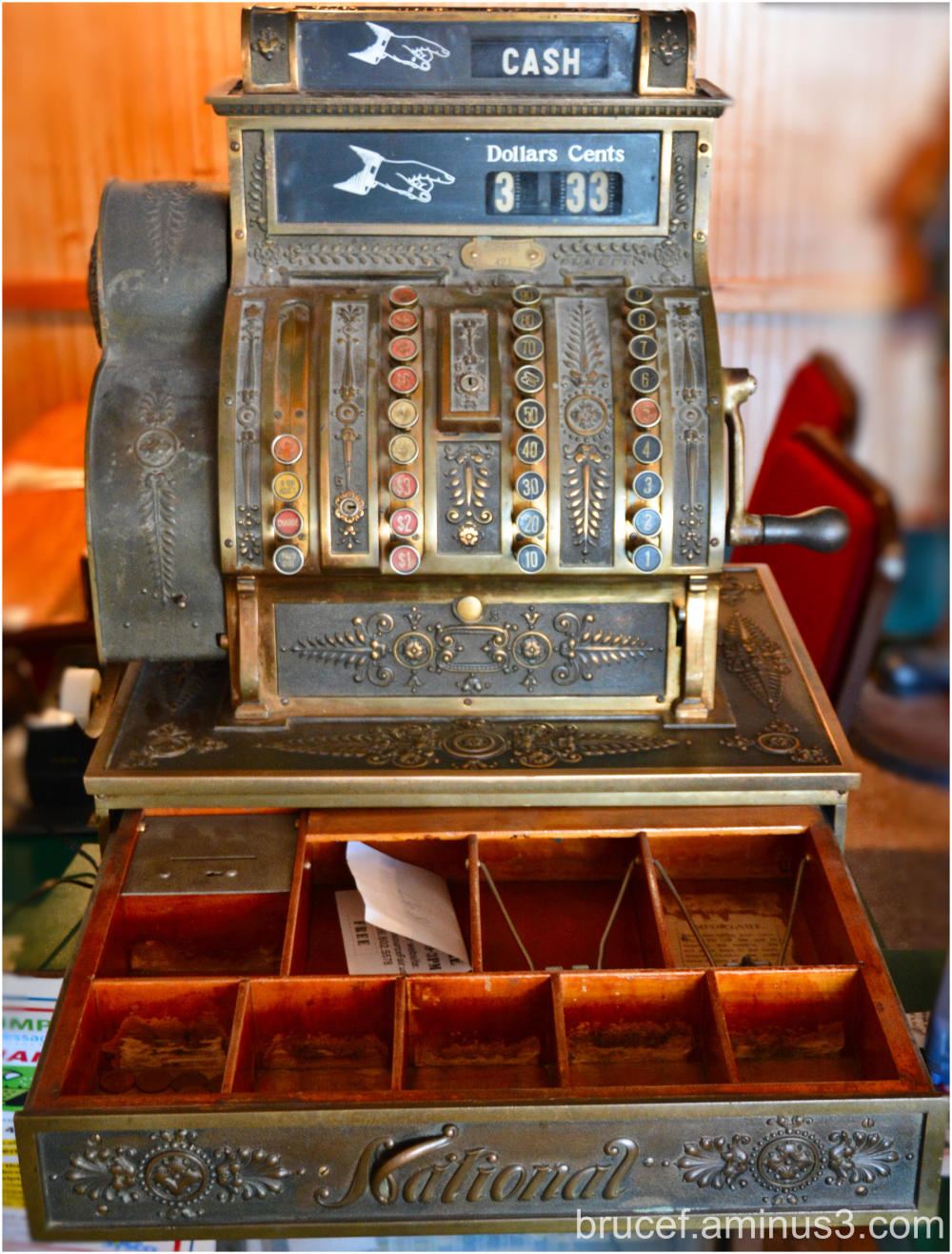 100 + year old cash box