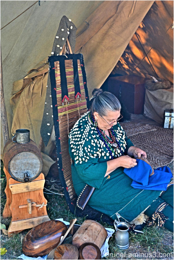 Pioneer Woman at Fort Nisqually