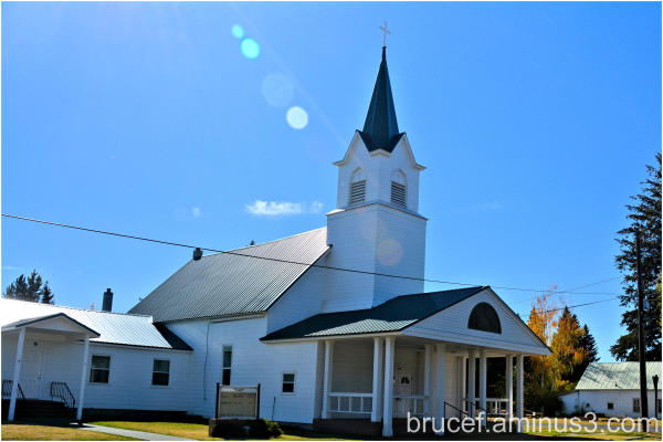 Oakesdale WA  First Baptist Church