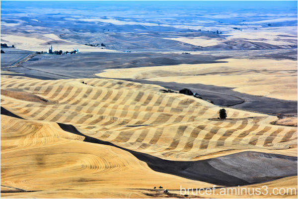 Palouse WA Steptoe Butte View