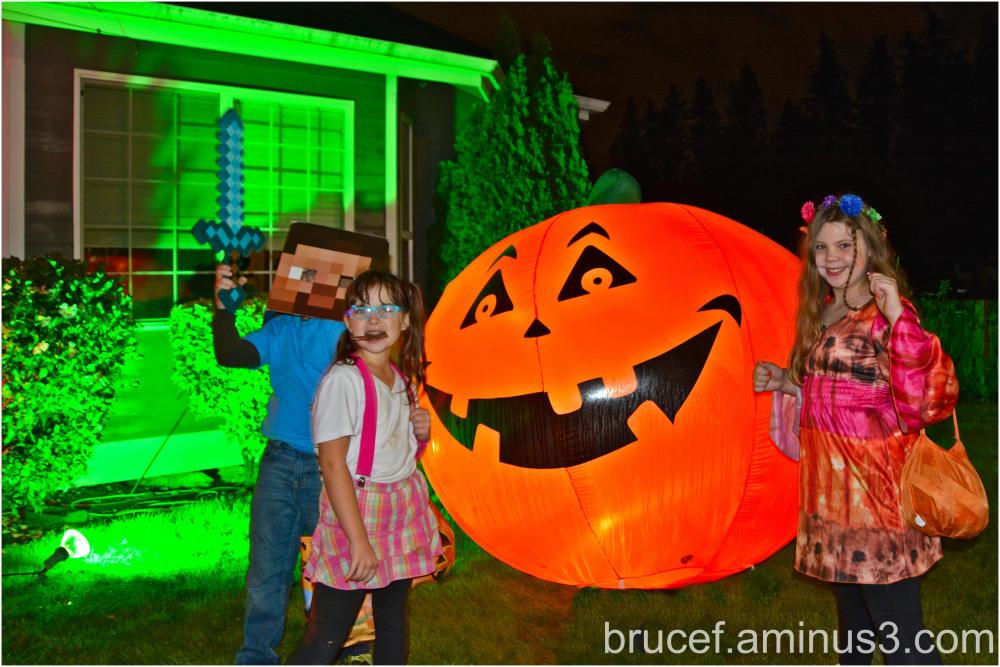 Halloween Visitors