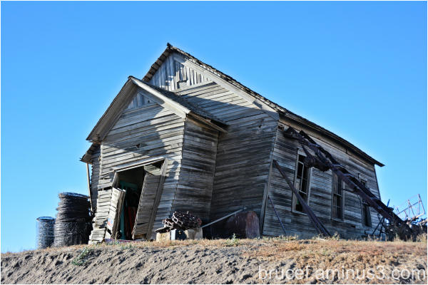 Old cabin on the Palouse