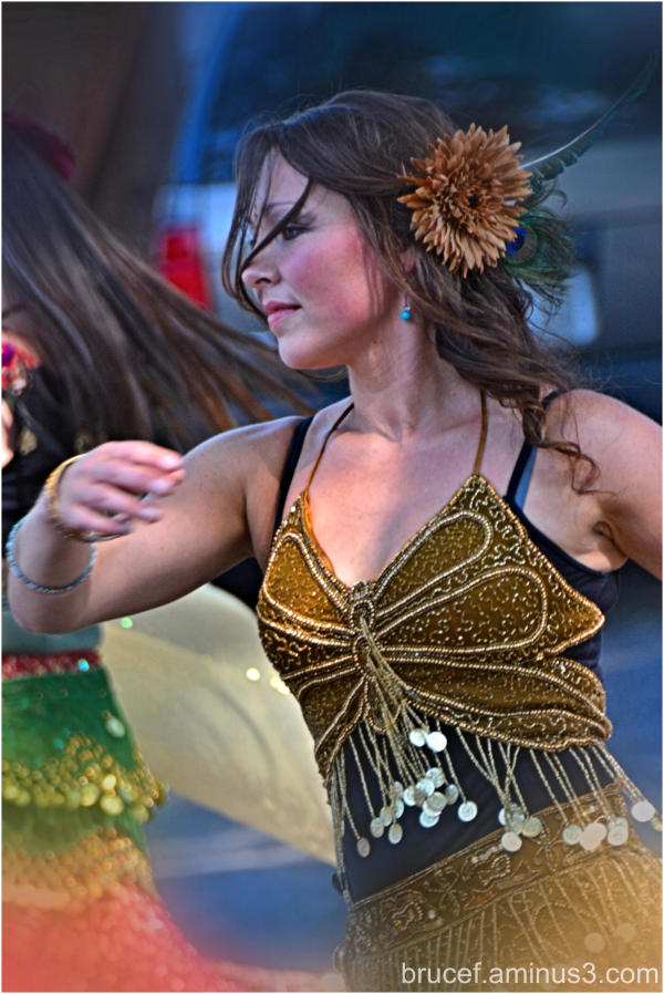 A Dancer in the Parade