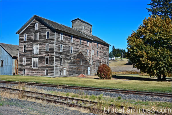 Historic Flour Mill Oakesdale, Washington
